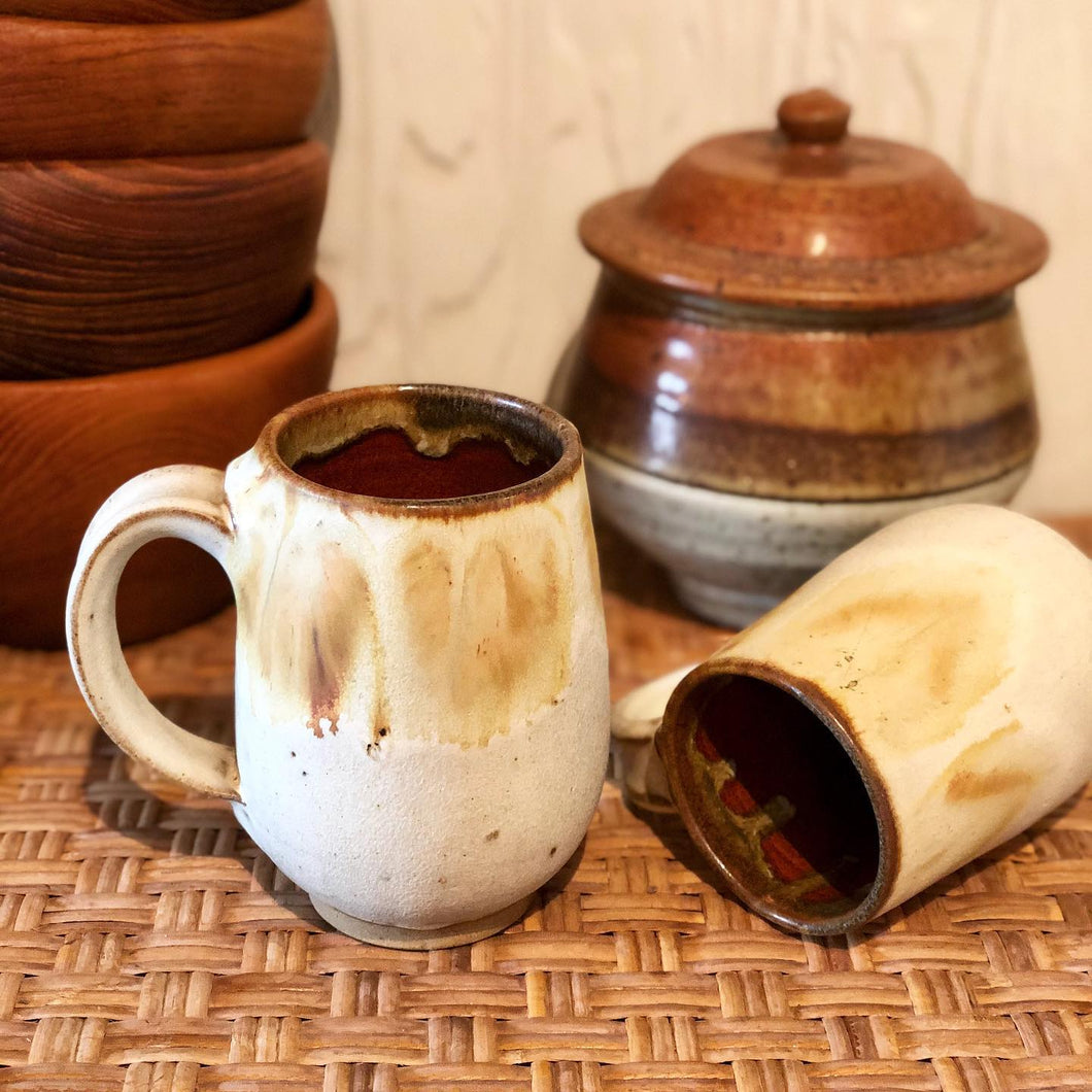 Handmade Ceramic Mug Set (2)