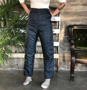 Montgomery Ward Quilted Snow Pants