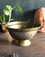 Load image into Gallery viewer, Etched Brass Dragon Bowl