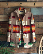 Load image into Gallery viewer, '50s Pendleton Harding Woolen Blanket Coat