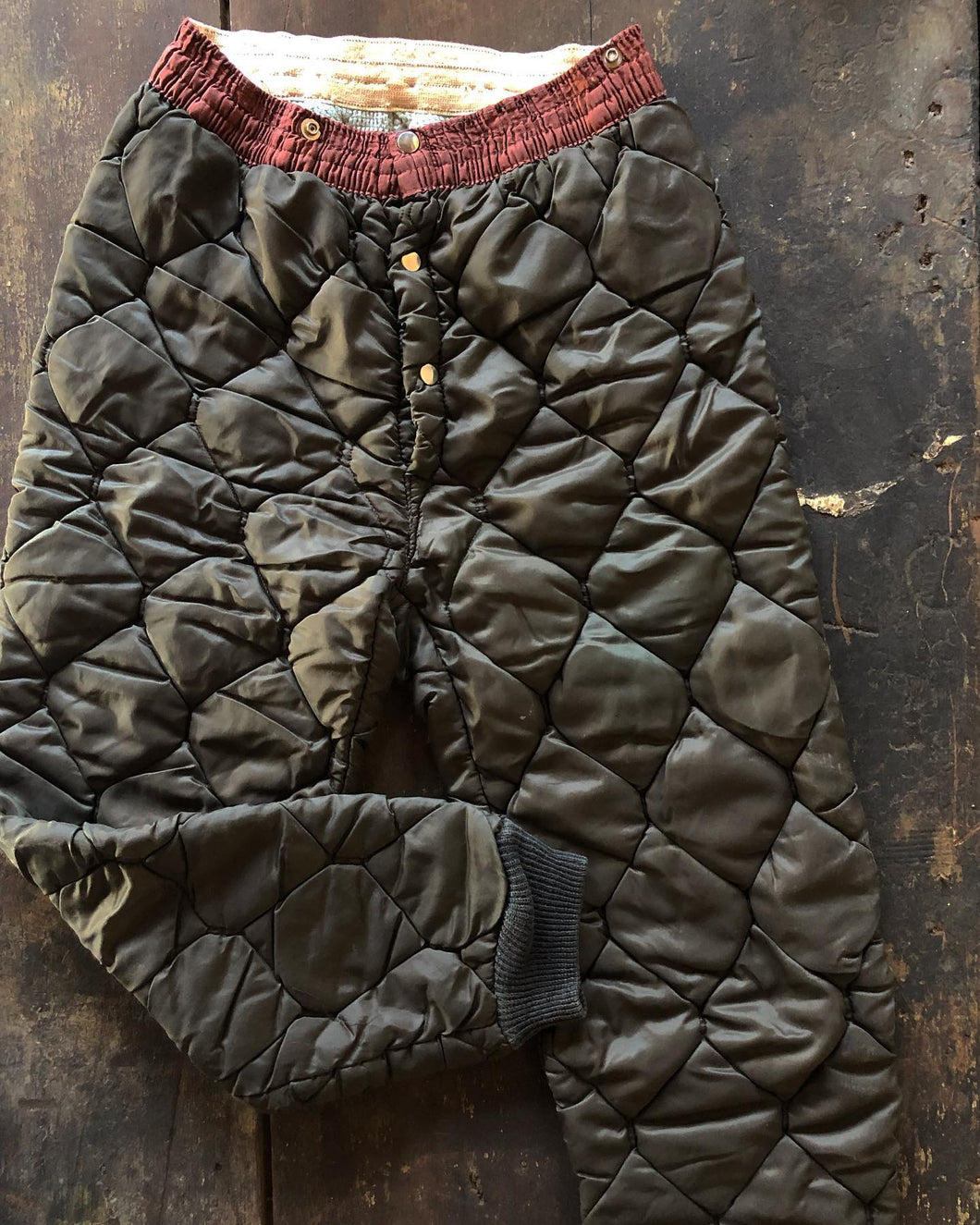 Quilted / Insulated Snow Pants w/ Thermal Lining