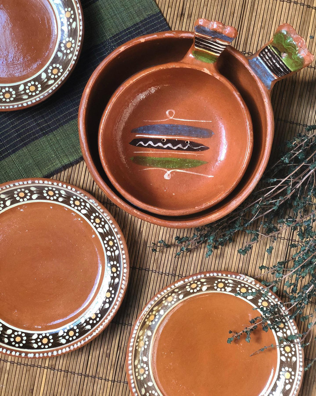 5-Piece Terracotta Pottery Set