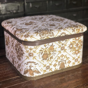 Faux-Embroidered Storage Box