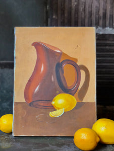 Lemon Painting