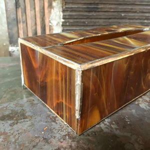 Glass Tissue Box / Container