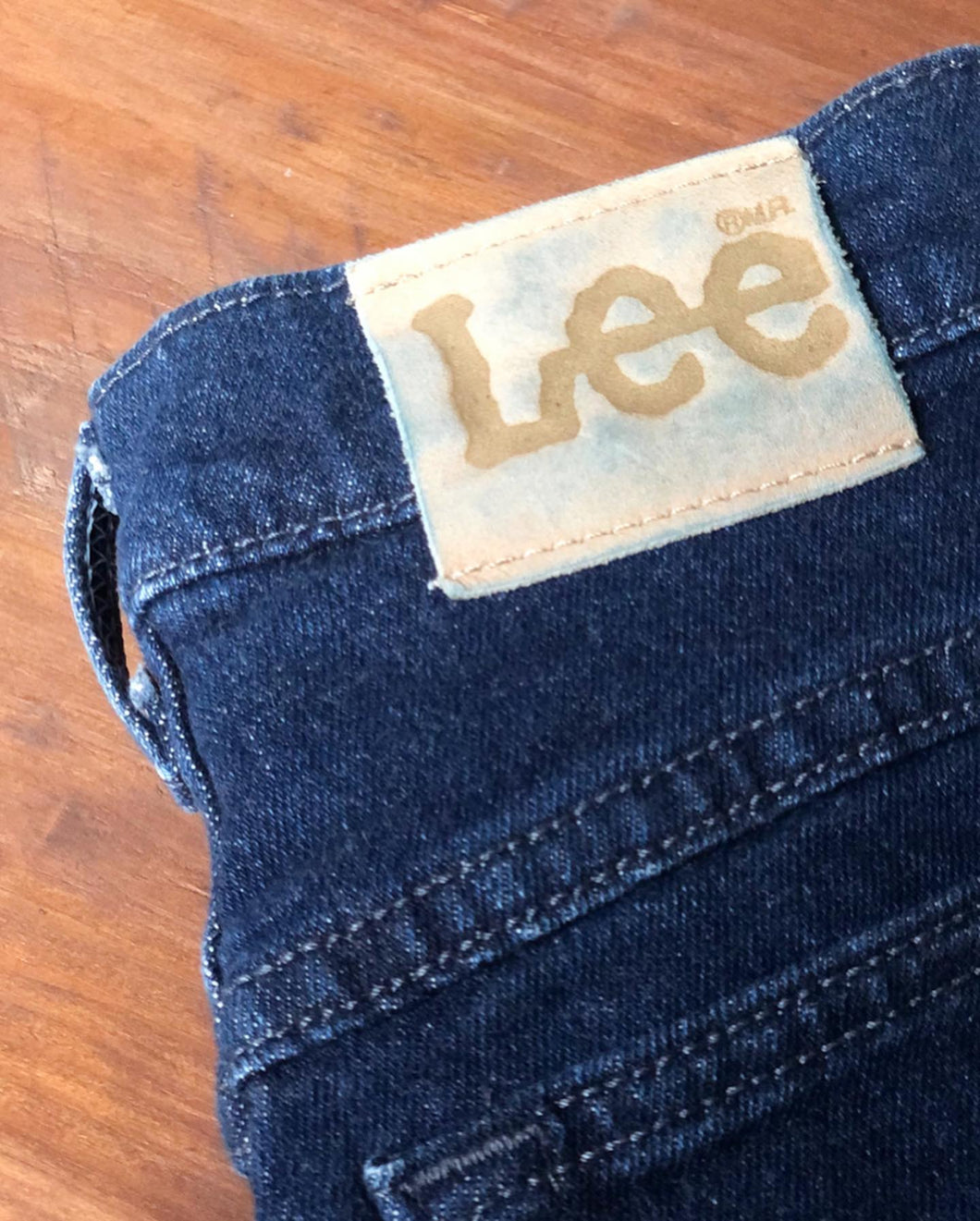 High-Waisted Lee Jeans