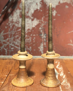 Handmade Ceramic Candlestick Holder Set (2)