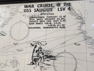 War Cruise of the USS Saugus LSV 4