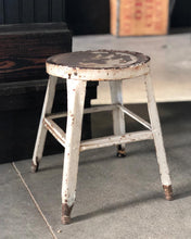 Load image into Gallery viewer, Rusty Metal Stool