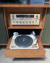 Load image into Gallery viewer, Radio / Record Console Cabinet by Hill-Craft