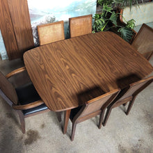 Load image into Gallery viewer, Dining Table w/ Two (2) Leaves and Six (6) Chairs by Richardson Bros.
