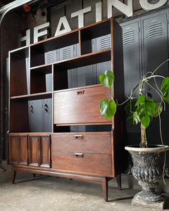 Mid-Century All-in-One Hutch