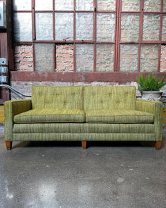 Green Tweed Couch