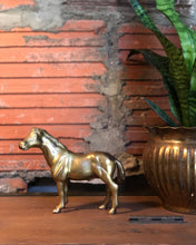 Load image into Gallery viewer, Brass Horse