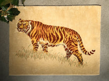 Load image into Gallery viewer, Vintage Karastan Tiger Rug / Wall Hanging