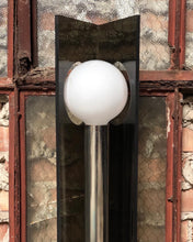 Load image into Gallery viewer, Tall Globe Lamp in Lucite and Chrome
