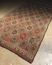Load image into Gallery viewer, Large Geometric Kilim Rug
