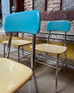 Two-Tone Heywood Wakefield Chairs, 14 Available