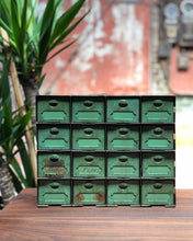 Load image into Gallery viewer, Industrial Green Drawer Set