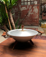 Load image into Gallery viewer, Mid-Century Atomic Serving Dish by Mirro Medallion