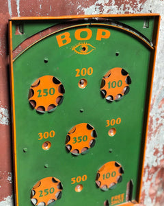 """Bop"" Metal Marble Game / Display"