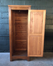 Load image into Gallery viewer, Cedar Armoire Wardrobe by Lakeside Craft Shops (Sheboygan, WIS.)