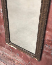 Load image into Gallery viewer, Narrow Antique Mirror feat. Woman w/ Dog