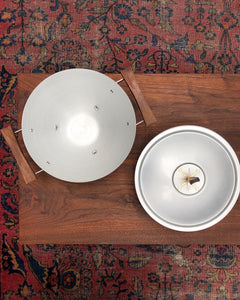 Mid-Century Atomic Serving Dish by Mirro Medallion