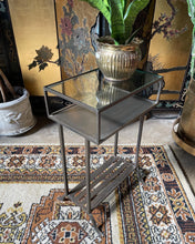 Load image into Gallery viewer, Wrought Iron Side / Accent Table