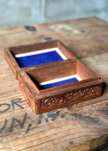 Load image into Gallery viewer, Carved Wood Box