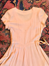Load image into Gallery viewer, '40s Blush Dress