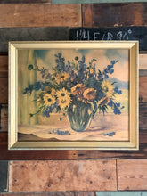 Load image into Gallery viewer, Muted Floral Framed Print
