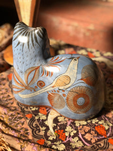 Tonala Hand-Painted Pottery Cat