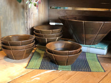 Load image into Gallery viewer, Walnut Salad Bowl Set (9)