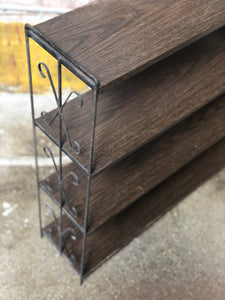 4-Tier Metal Shelf