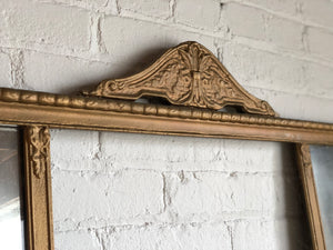 Antique Two-Panel Mirror