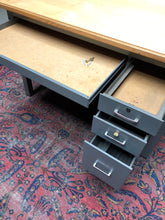 Load image into Gallery viewer, Adjustable/Lockable Drafting Desk w/ Wood Surface