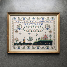 Load image into Gallery viewer, Meticulous Alphabet Cross-Stitch