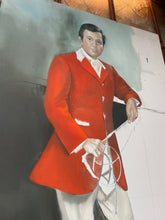 Load image into Gallery viewer, Unfinished Stephen Colbert Jockey Painting