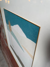 Load image into Gallery viewer, Framed Chine-collé Collage