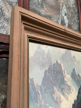 Load image into Gallery viewer, Framed Mountain Landscape Textured Print