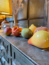 Load image into Gallery viewer, Stone Fruit in Glass Bowl Set (7)