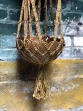 Load image into Gallery viewer, Hanging Macrame Planter