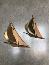 Load image into Gallery viewer, Mid-Century Sailboat Set (2)