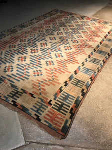 Large Eclectic Turkish Rug