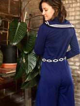 Load image into Gallery viewer, Polyester Sailor Jumpsuit