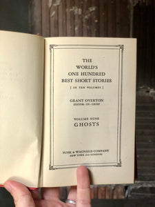 1920s Ghost Book