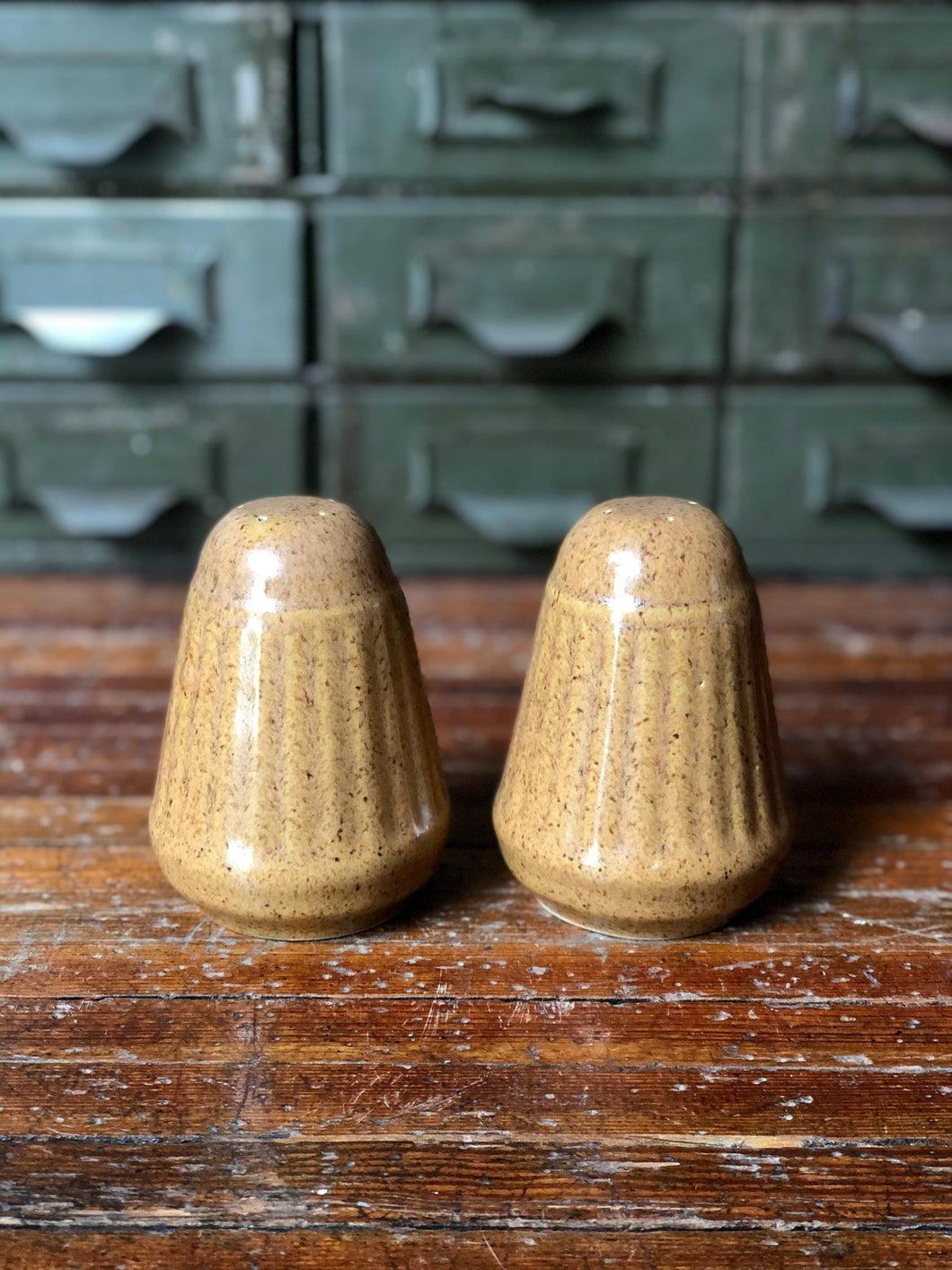 Monmouth Pottery Salt and Pepper Shaker Set (2)