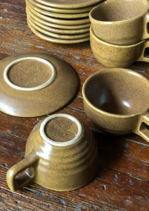 Monmouth Pottery Mug and Saucer Set (17)