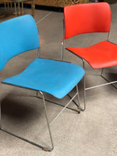 Load image into Gallery viewer, Metal Office Chairs by David Rowland Set (3)